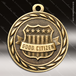 Medallion Sculpted Series Scholastic Good Citizen Medal School Scholastic Medals