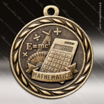 Medallion Sculpted Series Scholastic Mathematics Medal School Scholastic Medals