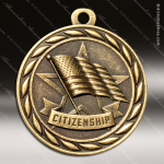 Medallion Sculpted Series Scholastic Citizenship Medal School Scholastic Medals