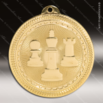 Medallion BriteLazer Series Chess Medal School Scholastic Medals