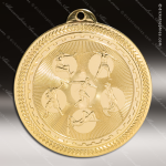 Medallion BriteLazer Series Field Events Medal School Scholastic Medals