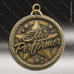 Medallion Value Scholastic Star Performer Medal School Scholastic Medals