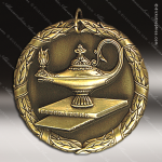 Medallion XR Series Scholastic Lamp of Knowledge Medal School Scholastic Medals