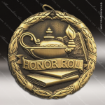 Medallion XR Series Scholastic Honor Roll Medal School Scholastic Medals