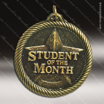 Medallion Value Series Scholastic Student Of The Month Medal School Scholastic Medals
