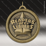 Medallion Value Series Scholastic Readers Are Leaders Medal School Scholastic Medals