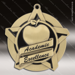 Medallion Super Star Series Scholastic Academic Excellence Medal School Scholastic Medals