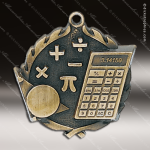Medallion Wreath Series Scholastic Math Medal School Scholastic Medals