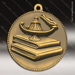 Medallion M90/M91 Series Scholastic Lamp of Knowledge Medal School Scholastic Medals