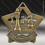 Medallion Star Series Chess Medal Star School Scholastic Medals