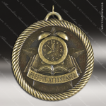 Medallion Value Scholastic Perfect Attendance Medal School Scholastic Medals