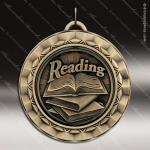 Medallion 360 Spin Series Scholastic Reading Medal  Spin School Scholastic Medals
