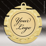 Medallion Semi Custom Series Medal - Slot Edge Insert Your Logo Semi Custom Medallion Medals