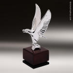 Premium Resin Silver American Eagle Trophy Award Silver Eagle Trophy Awards