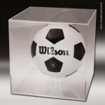 Display Case Acrylic Clear for Basketball or Soccer Ball Soccer Display Case