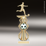 Trophy Builder - Soccer Riser - Example 4 Soccer Trophies