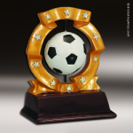 Resin Ball Spinner Series Soccer Trophy Award Soccer Trophies