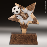 Resin Star Burster Series Soccer Trophy Award Soccer Trophies