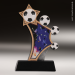 Resin Sports in Motion Series Soccer Trophy Award Soccer Trophies
