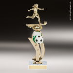 Trophy Builder - Soccer Riser - Example 1 Soccer Trophies