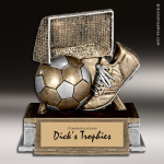 Resin Participation Theme Series Soccer Trophy Award Soccer Trophies
