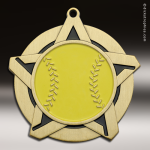 Medallion Super Star Series Softball Medal Softball Medals