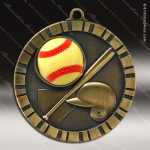 Medallion 3D IM Series Softball Medal 3-D Softball Medals