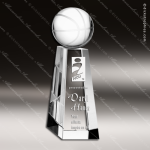 Crystal Sport Championship Basketball Tower Trophy Award Sport Crystal Awards