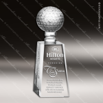 Crystal Sport Golf Pilar Trophy Award Sport Crystal Awards