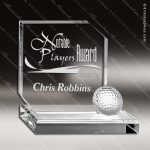 Crystal Sport Golf Hole In One Award Trophy Award Sport Crystal Awards