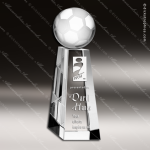 Crystal Sport Championship Soccer Tower Trophy Award Sport Crystal Awards