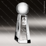 Crystal Sport Championship Golf Tower Trophy Award Sport Crystal Awards