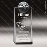 Crystal Sport  Winning Golf Tower Trophy Award Sport Crystal Awards