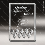 Acrylic  Clear Rectangle Diamond Mirage Trophy Award Square Rectangle Acrylic Awards