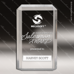 Acrylic  Clear Rectangle Premier Trophy Award Square Rectangle Acrylic Awards