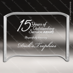 Acrylic  Clear Crescent Rectangle Trophy Award Square Rectangle Acrylic Awards