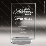 Crystal  Clear Rectangle Avante Trophy Award Square Rectangle Shaped Crystal Awards