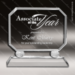 Crystal  Rectangle Trophy Award Square Rectangle Shaped Crystal Awards