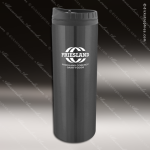 Engraved Stainless Steel 16 Oz. Travel Tumbler Mug Black Laser Etched Gift Stainless 16 Oz. Travel Tumblers