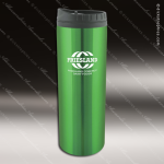 Engraved Stainless Steel 16 Oz. Travel Tumbler Mug Green Laser Etched Gift Stainless 16 Oz. Travel Tumblers