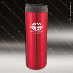 Engraved Stainless Steel 16 Oz. Travel Tumbler Mug Red Laser Etched Gift Stainless 16 Oz. Travel Tumblers