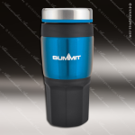 Engraved Stainless Steel 16 Oz. Travel Tumbler Drink Mug Blue Laser Etched Stainless 16 Oz. Travel Tumblers