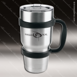 Engraved Stainless Steel 30 Oz. Polar Camel Mug Silver Laser Etched Gift Stainless 30 Oz. Polar Camel Mugs