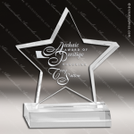 Acrylic  Clear Star Trophy Award Star Acrylic Awards