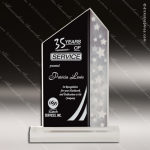 Acrylic Black Accented Multi Star Peak Trophy Award Star Acrylic Awards