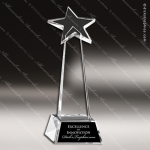 Crystal  Star Tower Trophy Award Star Shaped Crystal Awards