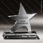 Crystal Clear Prestige Star Crystal Trophy Award Star Trophy Awards