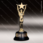 Traditional Gold Star Achievement Trophy Award Star Trophy Awards