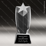 Crystal Celeste Star Trophy Award Star Trophy Awards