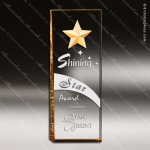 Acrylic Gold Accented Star Constellation Award Star Trophy Awards